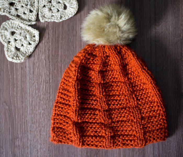 Шапка Стълба – модел за плетене