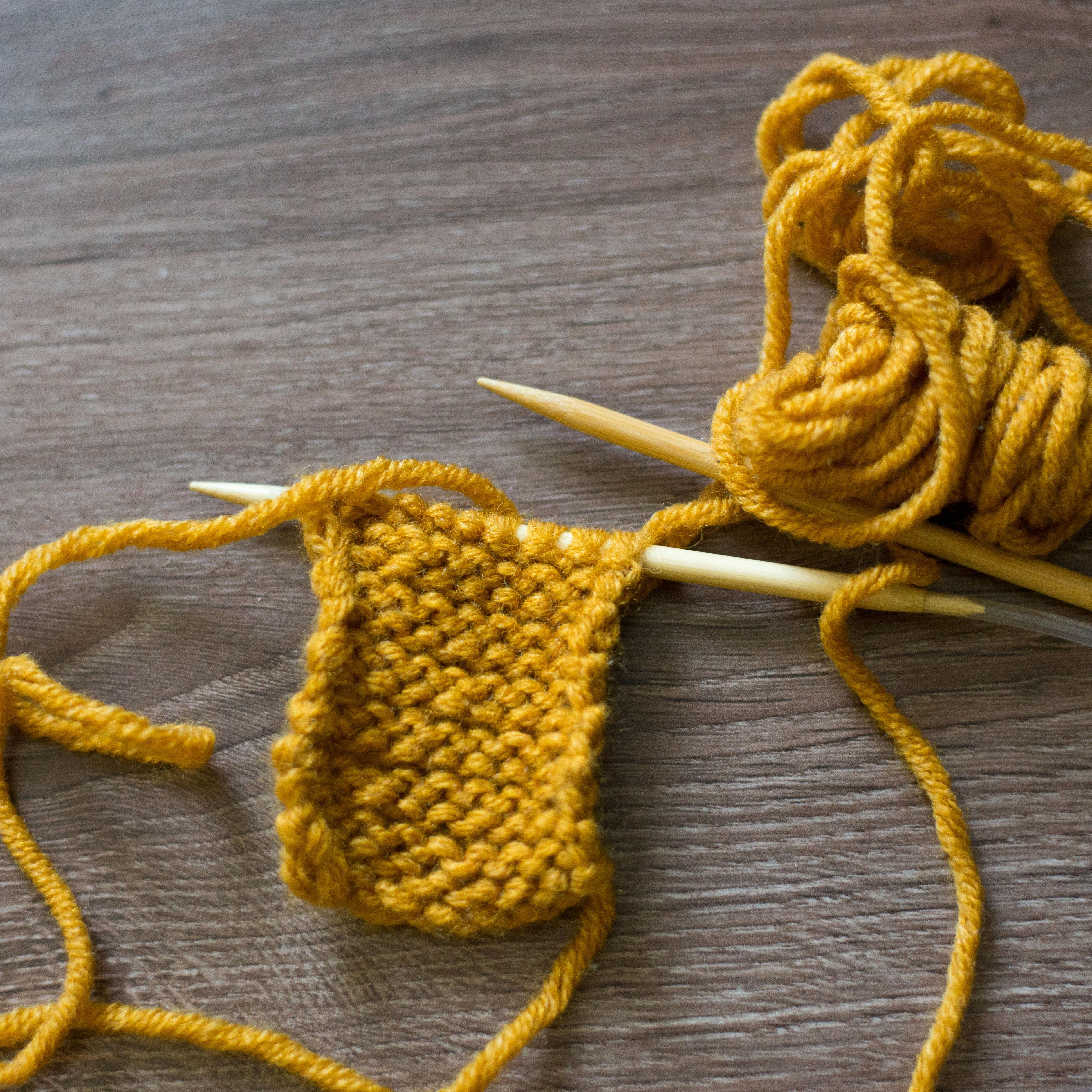 Как се плете опакова бримка