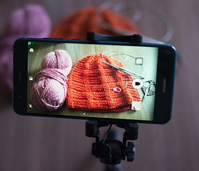 Видеоурок за плетене на шапка Стълба
