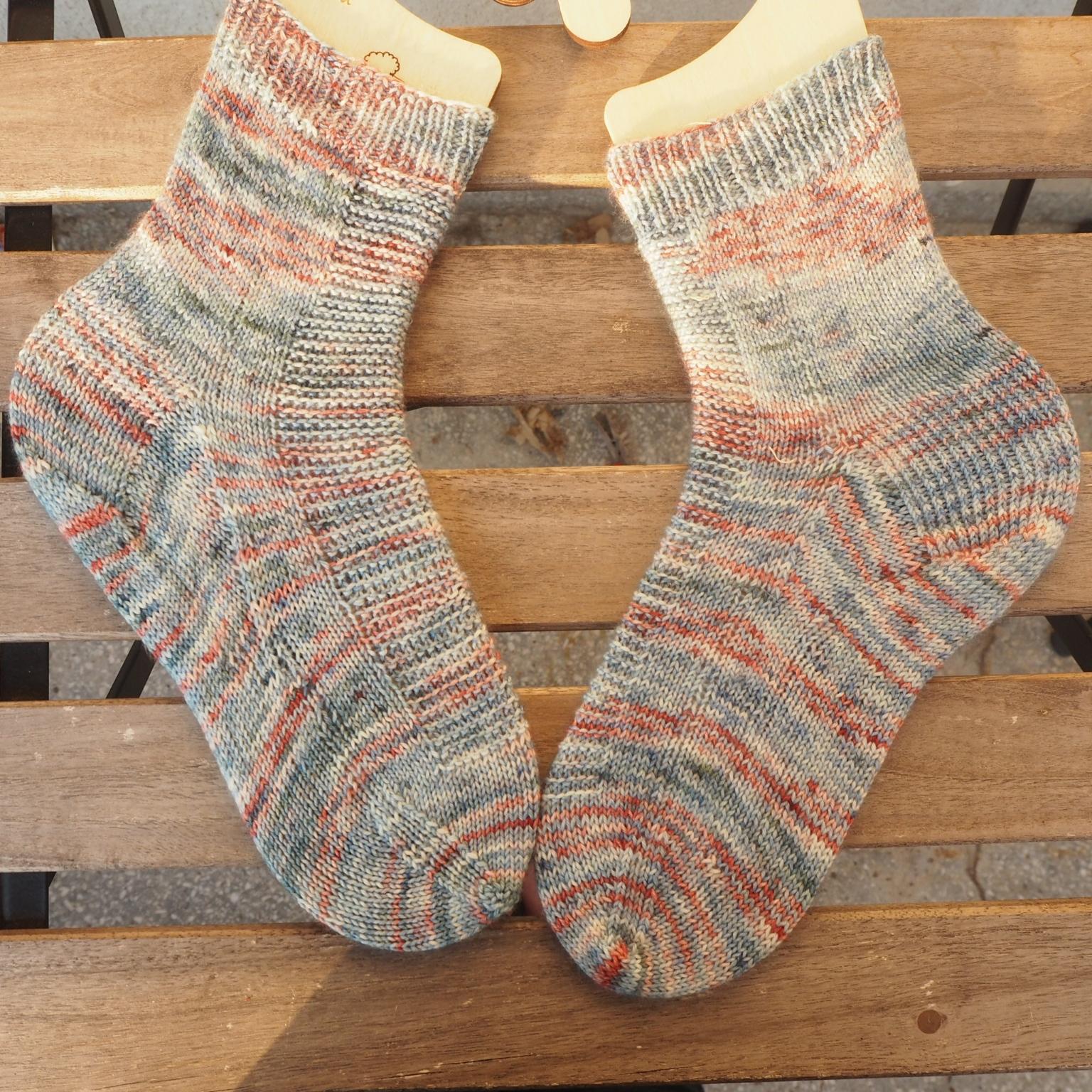 Завършен проект – чорапи Rye Light