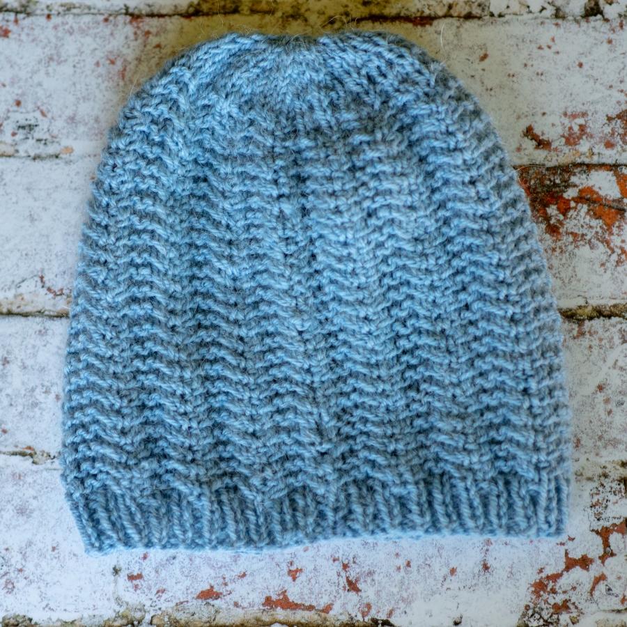 Шапката на Митко – модел за шапка с плетеници